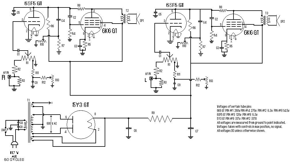 el34 tube mw diagram radio