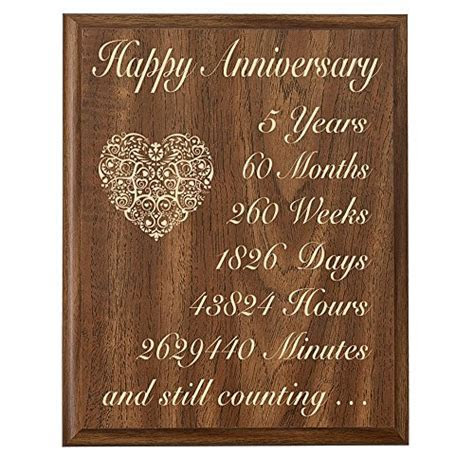5th Year Anniversary Gifts for Her: Amazon.com