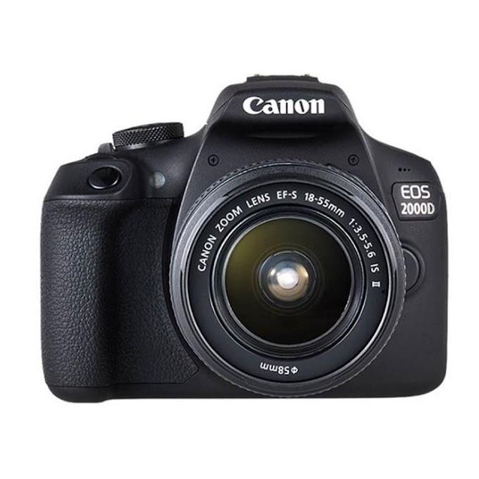 Canon EOS 2000D Profesyonel Fotoğraf Makinası İnceleme