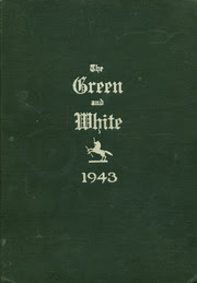 Bristol High School Green And White Yearbook Bristol Ri Class Of 1943 Cover