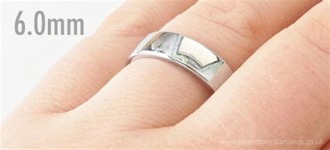 Wedding Rings   Popular Wedding Ring Widths Shown on the