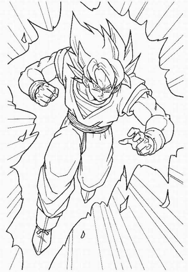 Dragon Ball Z Super Saiyan Coloring Pages - Berbagi Ilmu ...