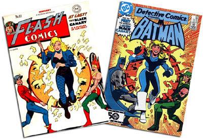Flash Comics #92/Detective #554