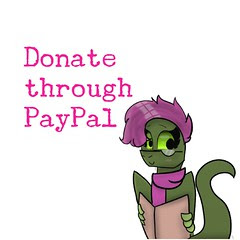 Support Tina with  a Paypal donations