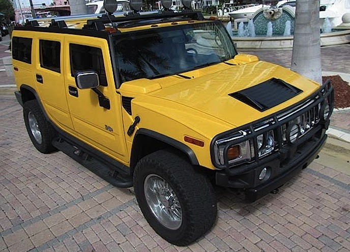 Where Is The Paint Code Located On  Hummer