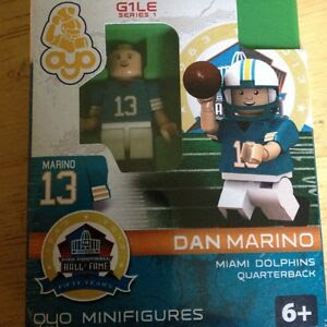 Dan Marino 2013 NFL HOF Exclusive OYO Minifigure Limited 1 Of 200 Dolphins