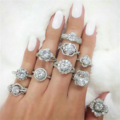 30 Unique Custom Style Diamond Engagement Rings   crazyforus
