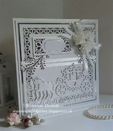 Wedding Card using dies from Creative Expressions / Sue
