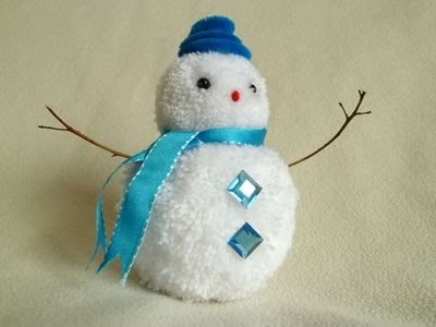 pom-pom-snowman-christmas-crafts-blue-hat (400x300, 47Kb)