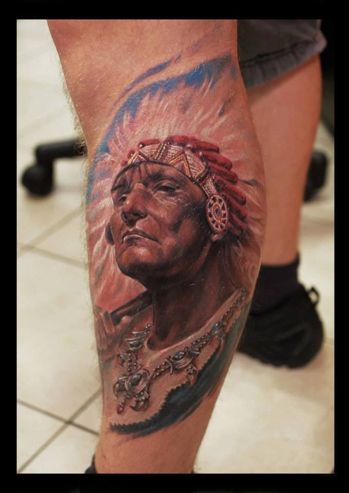 Best Native American Tattoo Ever In 2017 Real Photo Pictures