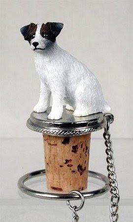 Conversation Concepts Jack Russell Terrier Wine Bottle Stopper