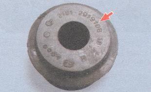 статья про Замена шарниров штанг задней подвески на автомобиле ВАЗ 2106