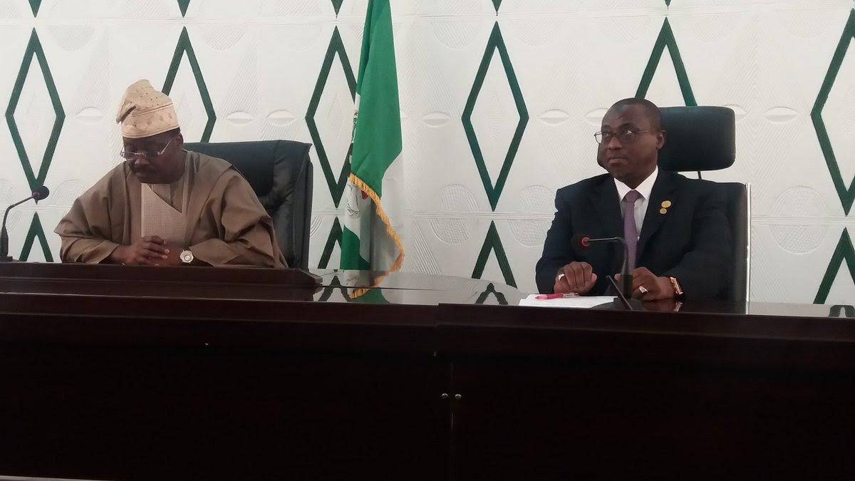 GMD Of NNPC, Baru And Ajimobi Commission The NNPC Ibadan Depot (Photos)