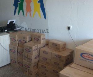 Θεσπρωτία: O Σύλλογος γονέων με τρία παιδιά Ν.Θεσπρωτίας διένειμε τρόφιμα