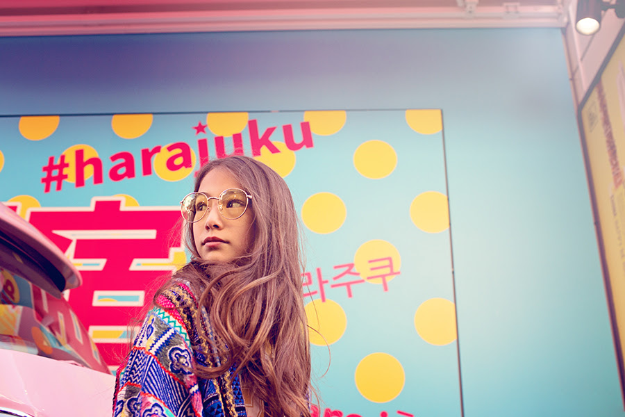 Kaleidoscope Harajuku by Artfully Uncommon for Babiekins Magazine