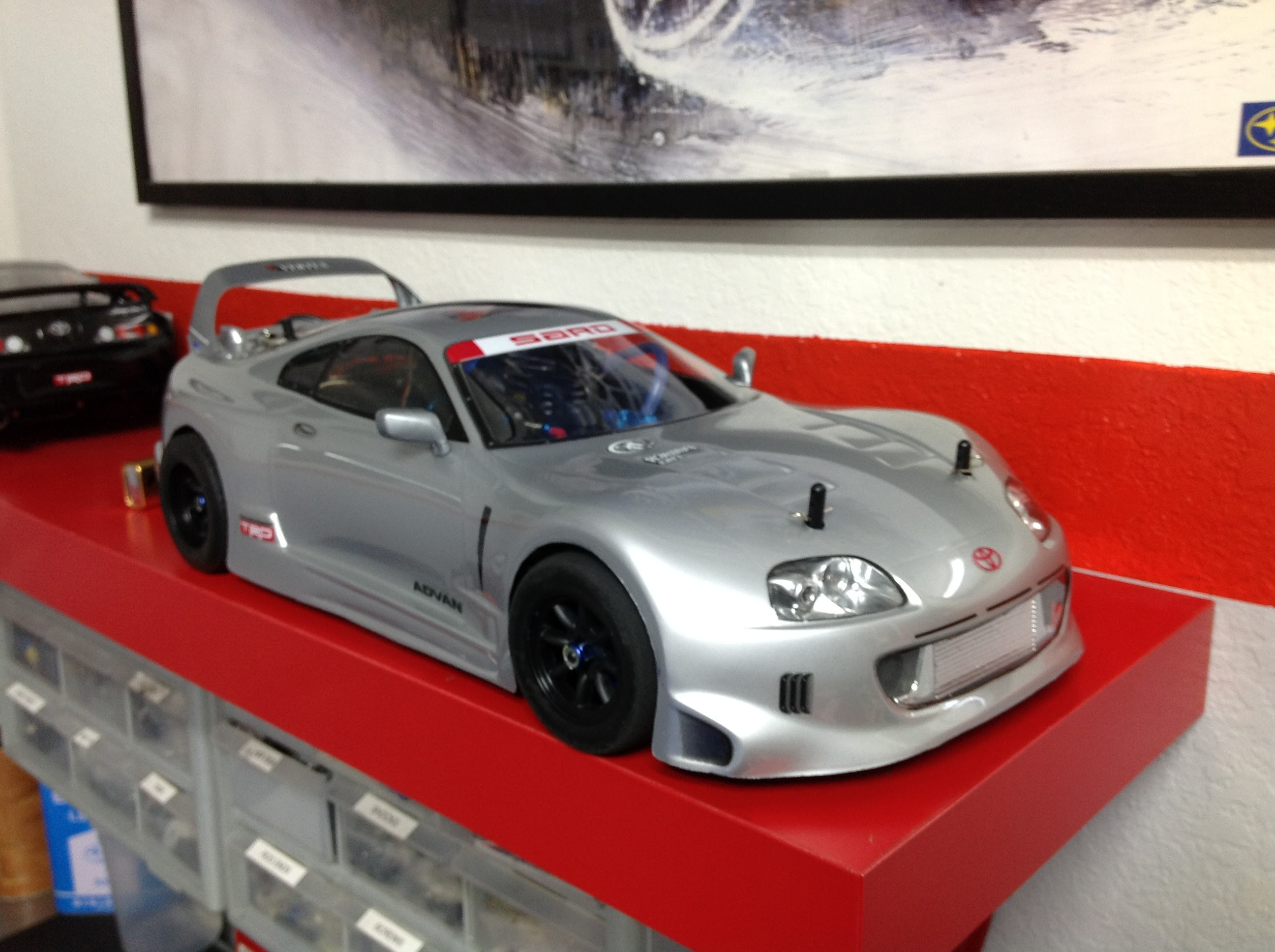 Team Associated NTC3 with HPI Toyota Supra Body