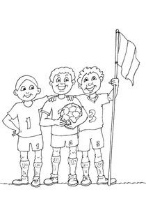 Coloriages Football à Imprimer Coloriages Sports