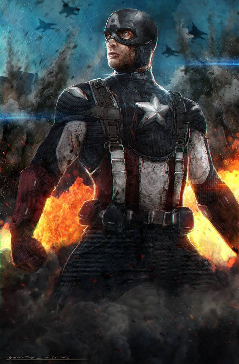 Captain America by Johnson Ting