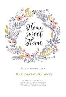 Housewarming Invitation Templates (Free)   Greetings Island
