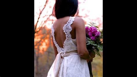 How to make your own wedding dress DIY   YouTube