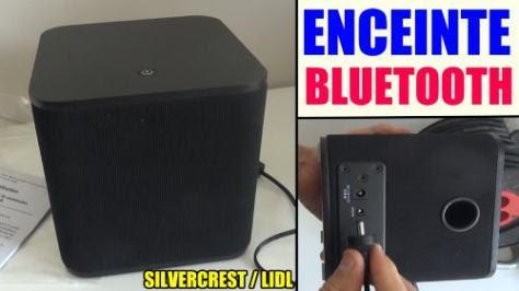Enceinte stéréo bluetooth silvercrest SBLS 20 a1 lidl pour restituer des sons test avis prix notice caractéristiques et forum