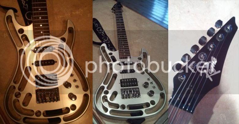 Guitar Blog: Aluminium-bodied Rogue guitar on Craig's List ...