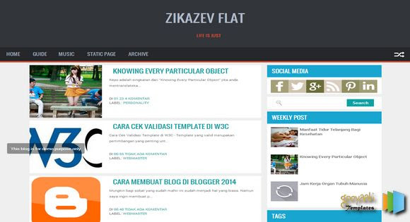Zikazev Flat Responsive Blogger Template. Free Blogger templates. Blog templates. Template blogger, professional blogger templates free. blogspot themes, blog templates. Template blogger. blogspot templates 2013. template blogger 2013, templates para blogger, soccer blogger, blog templates blogger, blogger news templates. templates para blogspot. Templates free blogger blog templates. Download 1 column, 2 column. 2 columns, 3 column, 3 columns blog templates. Free Blogger templates, template blogger. 4 column templates Blog templates. Free Blogger templates free. Template blogger, blog templates. Download Ads ready, adapted from wordpress template blogger. blog templates Abstract, dark colors. Blog templates magazine, Elegant, grunge, fresh, web2.0 template blogger. Minimalist, rounded corners blog templates. Download templates Gallery, vintage, textured, vector,  Simple floral.  Free premium, clean, 3d templates.  Anime, animals download. Free Art book, cars, cartoons, city, computers. Free Download Culture desktop family fantasy fashion templates download blog templates. Food and drink, games, gadgets, geometric blog templates. Girls, home internet health love music movies kids blog templates. Blogger download blog templates Interior, nature, neutral. Free News online store online shopping online shopping store. Free Blogger templates free template blogger, blog templates. Free download People personal, personal pages template blogger. Software space science video unique business templates download template blogger. Education entertainment photography sport travel cars and motorsports. St valentine Christmas Halloween template blogger. Download Slideshow slider, tabs tapped widget ready template blogger. Email subscription widget ready social bookmark ready post thumbnails under construction custom navbar template blogger. Free download Seo ready. Free download Footer columns, 3 columns footer, 4columns footer. Download Login ready, login support template blogger.