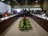 Reunión para el restablecimiento de las relaciones diplomáticas Cuba-Usa. Foto: Ismael Francisco/ Cubadebate