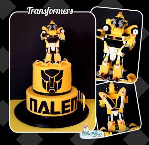 Bumblebee Transformer Cake Cake Ideas and Designs