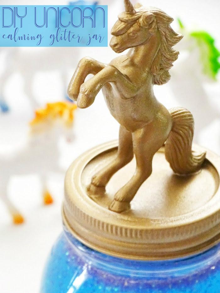 DIY Unicorn Calming Glitter Jar by Living Lavida Holoka