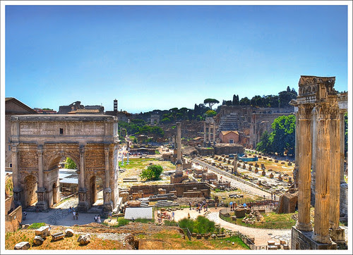 Roman Forum by MarcelGermain, on Flickr