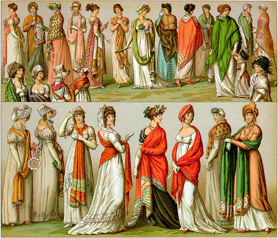 http://upload.wikimedia.org/wikipedia/commons/8/8d/Racinet-regency-empire-shawls-1888.jpg