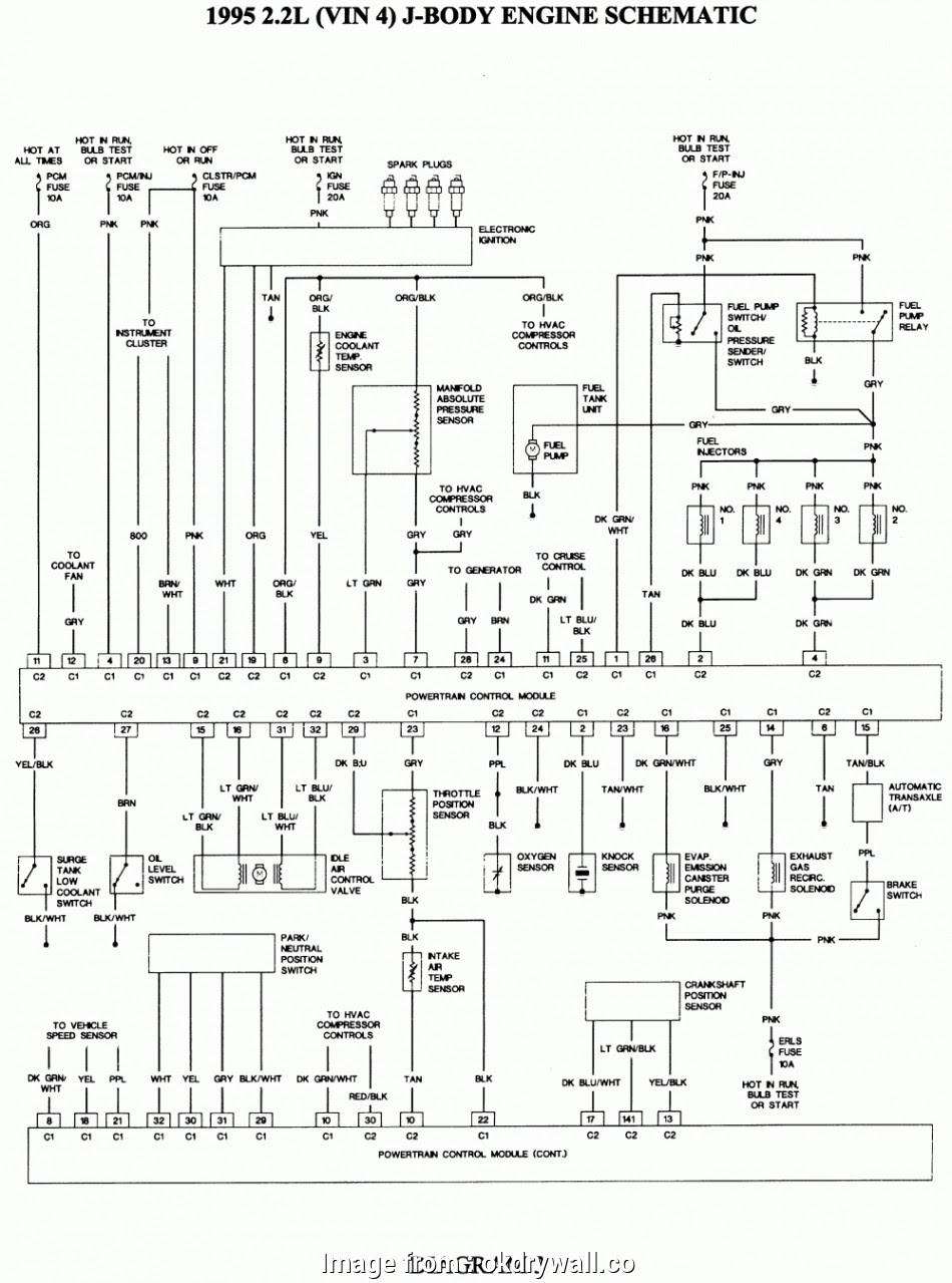 1997 Starter Wiring Diagram Top Pontiac Sunbird Engine ...