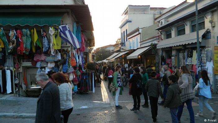 Griechenland Die Straßen von Athen (Privat)