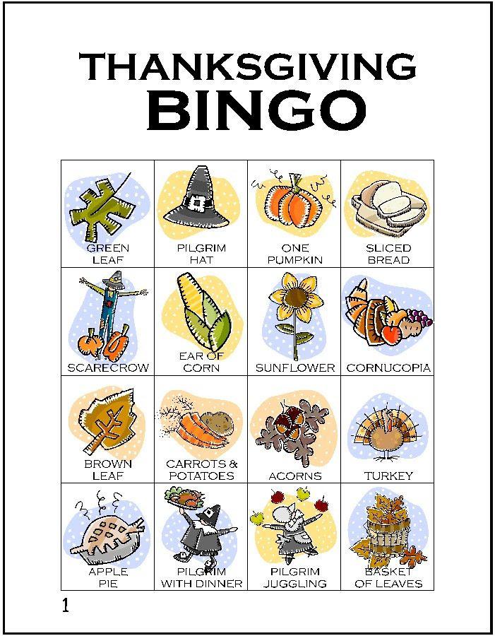 1000+ ideas about Thanksgiving Bingo on Pinterest | Thanksgiving ...