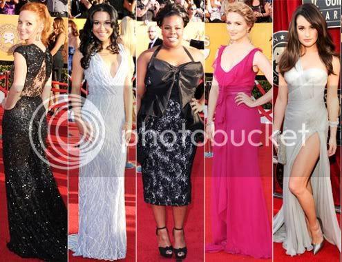 Glee Girls SAG Awards 2012