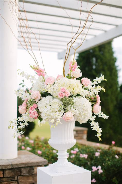 Dimensional, soft urn arrangement for ceremony and either