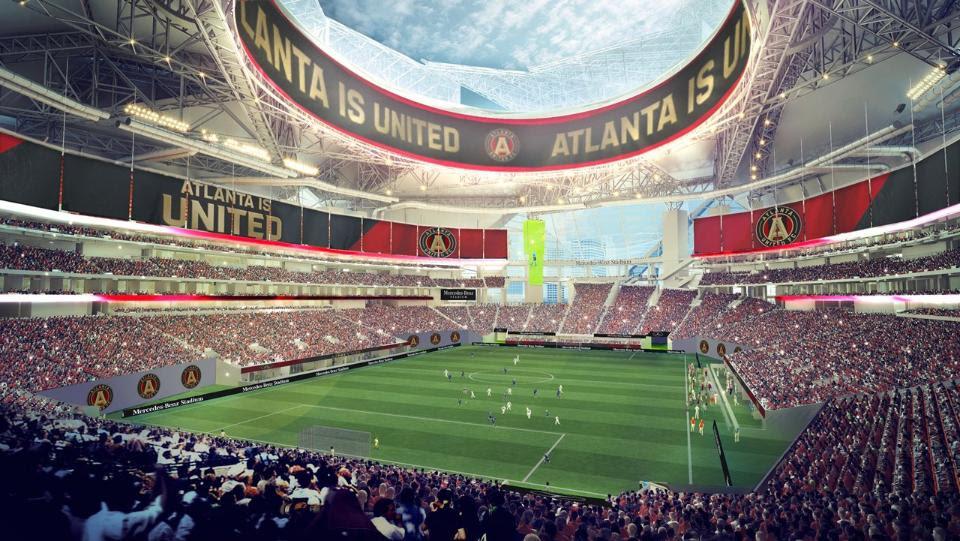 Preview: Mercedes-Benz Stadium - Soccer Stadium Digest