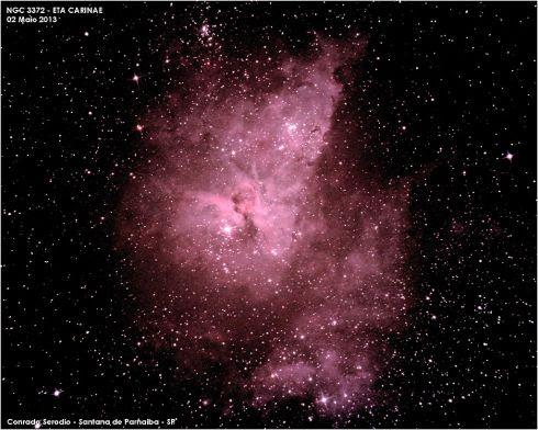 Eta Carinae por Conrado Serodio