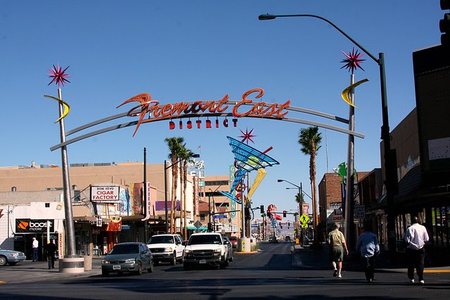 Fremont East dist., Las Vegas