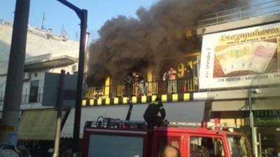 Έκαψαν σύνδεσμο της ΑΕΚ (video)