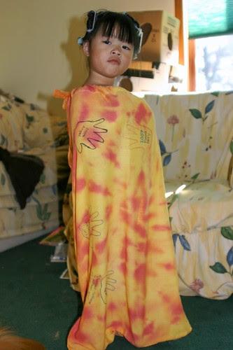 Olivia in Pillowcase