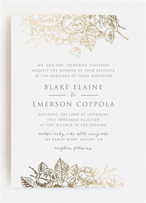 contoh undangan wedding invitation  bahasa inggris