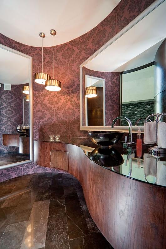 house in el uro , bathroom interior design , modern interior design ,modern bathroom interior design