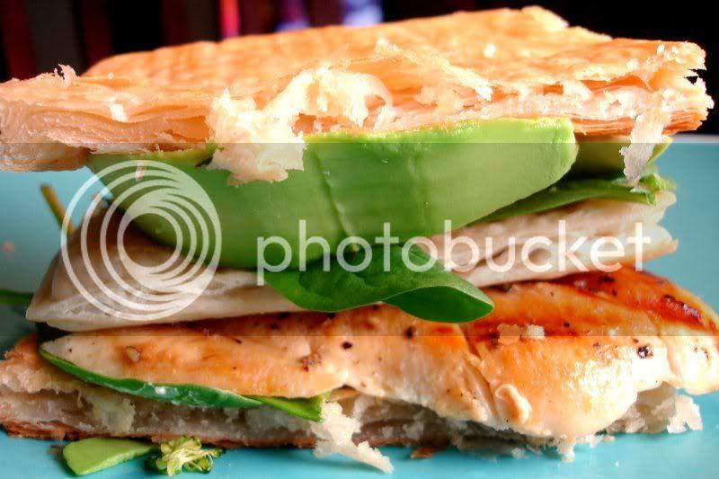 Triple Decker Grilled Chicken & Avocado Napoleons