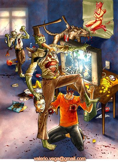 zombies adictos al juego