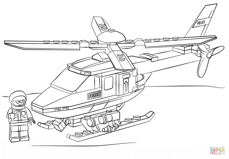 Klick das Bild Lego Polizei Hubschrauber