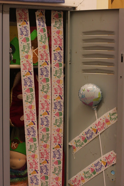 K's birthday (School)