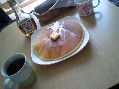 完璧なホットケーキ