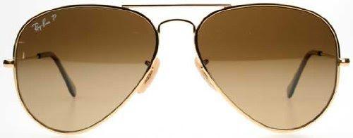 6f807c4dfb375 Wangthong  Ray Ban RB8041 Titanium Sunglasses-001 M2 Gold (Polar Brown Grad  Lens)-55mm